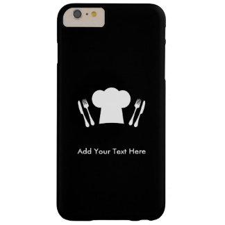 Amores para cocinar la cocina o el restaurante funda de iPhone 6 plus barely there