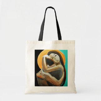 Amores que curan las manos bolsas lienzo