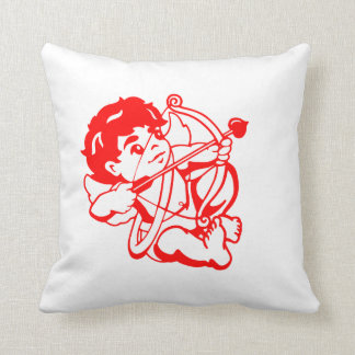 Amorkissen Throw Pillow