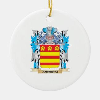 Amorosi Coat Of Arms Christmas Tree Ornaments