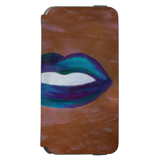 Amorous Lips Kiss XOXO Lipstick Girly Teen iPhone 6/6s Wallet Case