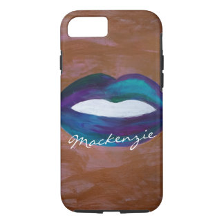 Amorous Tech | Name Lips Kiss XOXO Lipstick Diva iPhone 7 Case