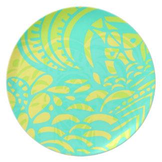 Amorph - limón y cal platos para fiestas