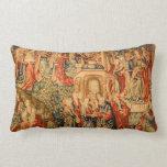 Amortiguador antiguo de la mirada de la tapicería almohadas