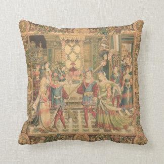 Amortiguador antiguo de la mirada de la tapicería cojín