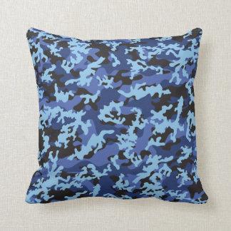 Amortiguador azul de encargo de la almohada de