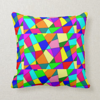 amortiguador brillante-colorear-abstracto cojín