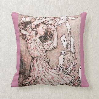 Amortiguador de la almohada de Alicia