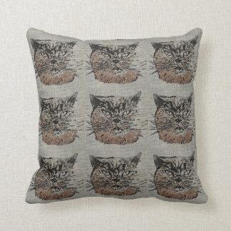 Amortiguador de la almohada de tiro del gato