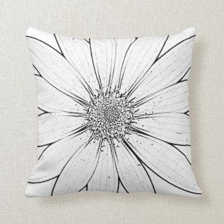 Amortiguador de la flor almohada