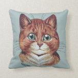 Amortiguador de los retratos del gato de Louis Wai Almohadas