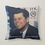 Amortiguador del aniversario de JFK 50.o Almohadas