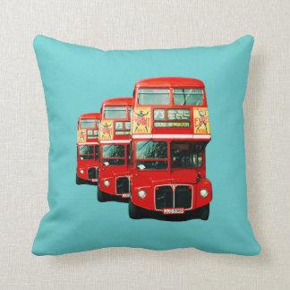 Amortiguador del autobús de Londres Almohadas
