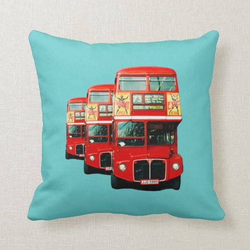 Amortiguador del autobús de Londres Cojin