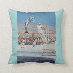 Amortiguador del delfín de Marineland del vintage Cojin