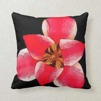 Amortiguador del poliéster de la flor del almohadas
