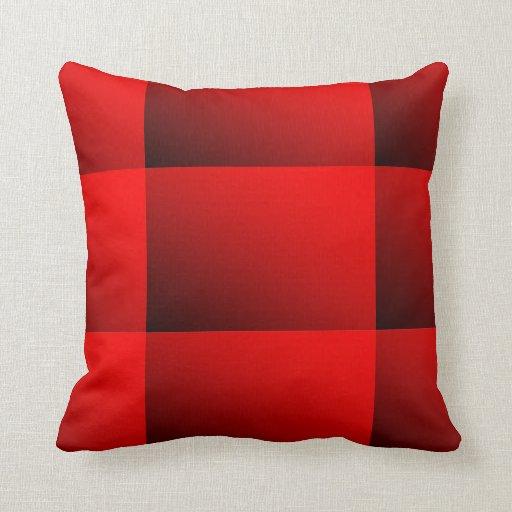 Amortiguador del rojo de dos tonos cojin