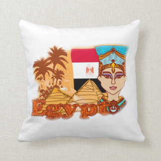 Amortiguador egipcio de la reina Cleopatra Almohada