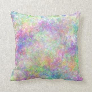 Amortiguador floral en colores pastel bonito almohadas