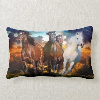 Amortiguador galopante de la almohada de los cabal