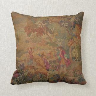Amortiguador hermoso con diseño antiguo de la tapi almohadas