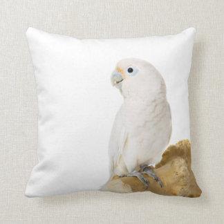 Amortiguador hermoso de la foto del pájaro blanco almohadas
