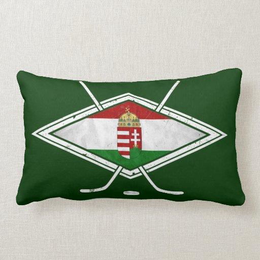 Amortiguador húngaro de la almohada del hockey sob