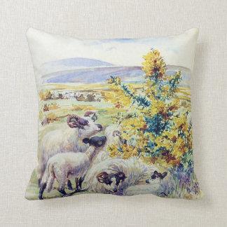 amortiguador inglés de la almohada del campo de cojín decorativo