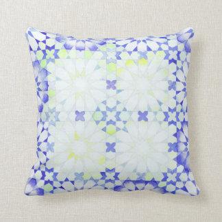 Amortiguador islámico de la geometría del almohadas
