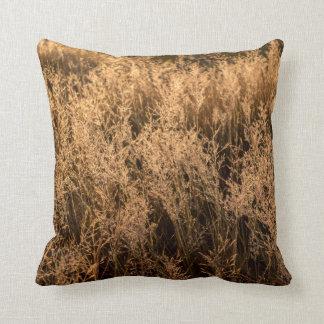Amortiguador marrón de las hierbas cojín