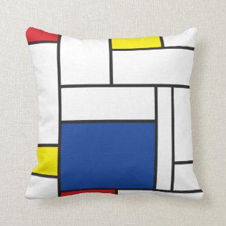Amortiguador minimalista de la almohada del arte d