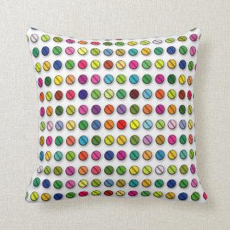 Amortiguador multicolor de la almohada del modelo cojín decorativo