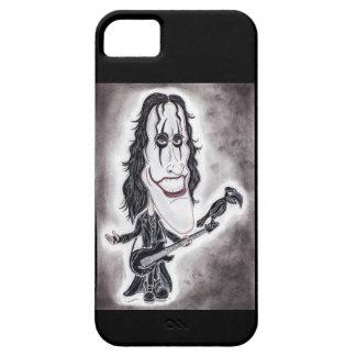 Amortiguador oscuro del dibujo de la caricatura de iPhone 5 carcasa
