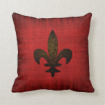 Amortiguador rojo medieval del terciopelo almohadas