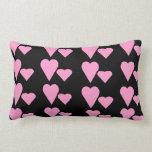 Amortiguador rosado de la almohada del tema de los