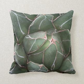 Amortiguador suculento verde 41 cm x 41 cm del cojín decorativo