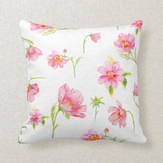 Amortiguadores rosados de la almohada del cosmos