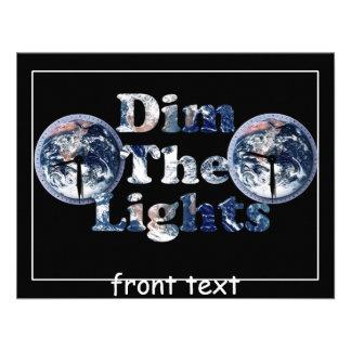 Amortigüe la imagen w Clocks del texto de las luce