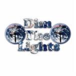 Amortigüe la imagen w/Clocks del texto de las luce Esculturas Fotograficas