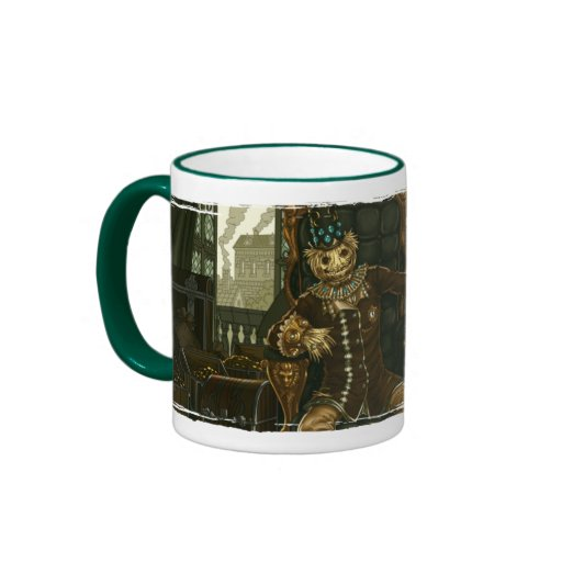 Amortized Straw Man Ringer Coffee Mug