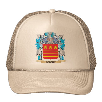 Amory Coat Of Arms Mesh Hats