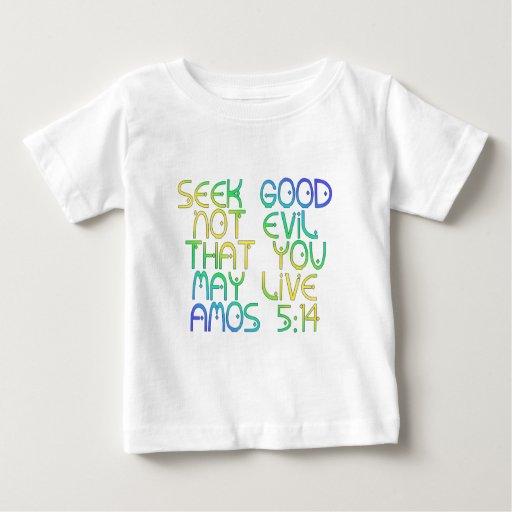 Amos 5:14 t shirt