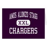 Amos Alonzo Stagg - cargadores - alto - colinas de Felicitación