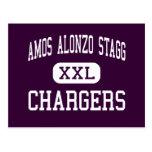 Amos Alonzo Stagg - cargadores - alto - colinas de Tarjeta Postal