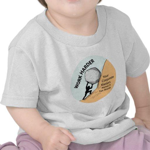 Amos corporativos más duros del trabajo necesitan  camiseta