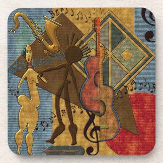 Amos de Scat (serie pinta del jazz. 6) Posavasos De Bebida