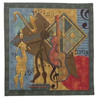Amos de Scat (serie pinta del jazz. 6) servilletas