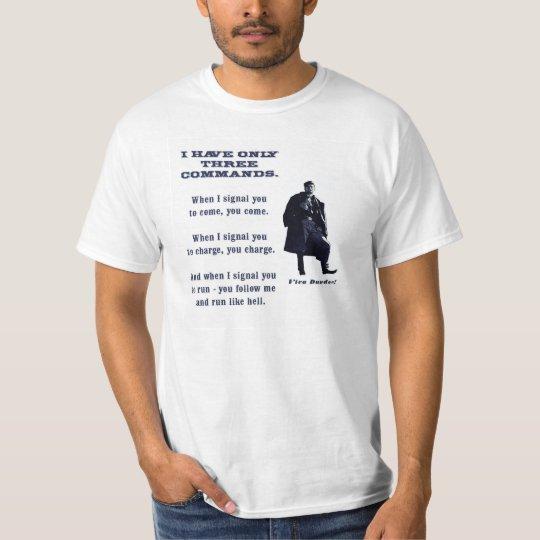 Amos Dundee Civil War Cavalry T-Shirt