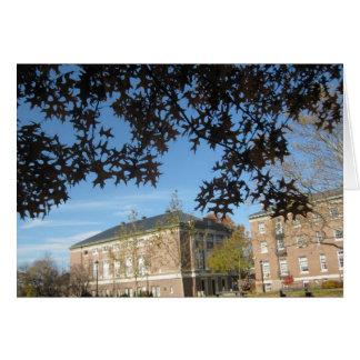 Amos Eaton y edificios de Lally en RPI Tarjeta De Felicitación