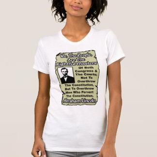 Amos legítimos camisas